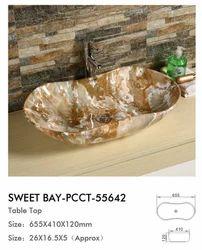 Sweet Bay  Size : 655 X 410 X 120 Sanitary Ware