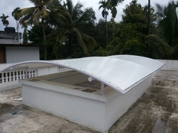 Membrane Tensile Roof Terrace Structures
