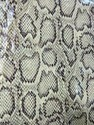 Cotton Linen Fabric with Skin Print & Glass Coating