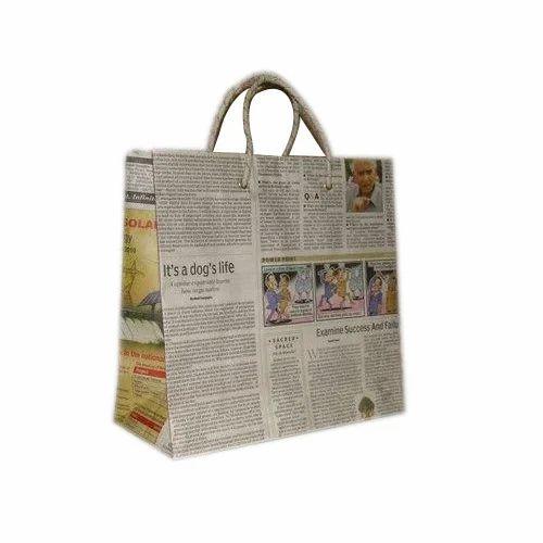 Newspaper Carry Bag
