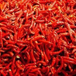 Dehydrated Red Chillies