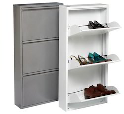 Wall Mount Shoe Racks Powder Coated