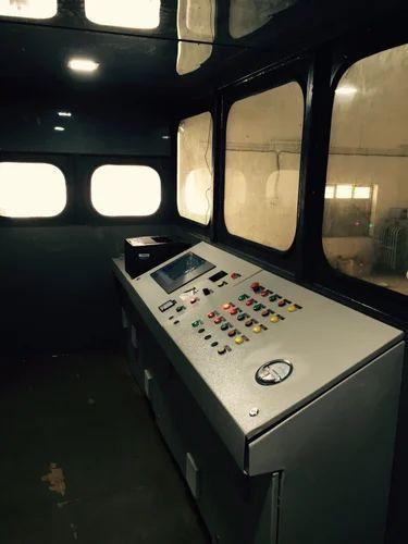 MAHI Three Phase Asphalt Batch Mix Plant Control Panel