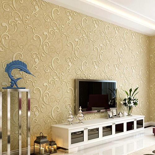 Charmant Living Room Designer Wallpaper