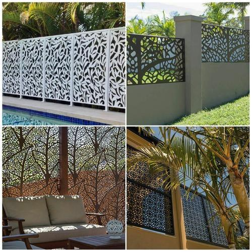 Laser Cut Metal Fencing Amp Partitions Radha Electricals