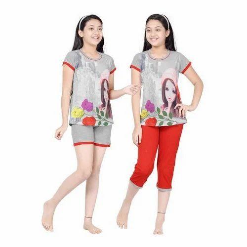 fadf3c746d Girls Fancy Night Dress