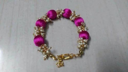 Silk Thread Bracelet