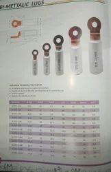 Copper+ Aluminium Jigo Bimetallic lugs, Size (mm): 35 Mm To 400 Mm