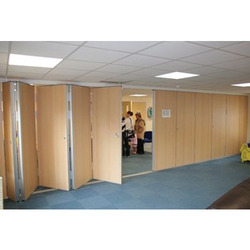 Acoustic Folding Partition for Noise Barriers