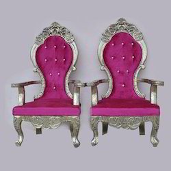 Wedding Bride And Groom Chair