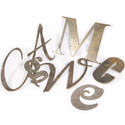 Mild Steel Letter