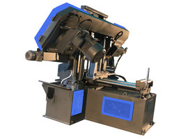 Indotech NC Control Double Column Band Saw Machine, For Metal Cutting