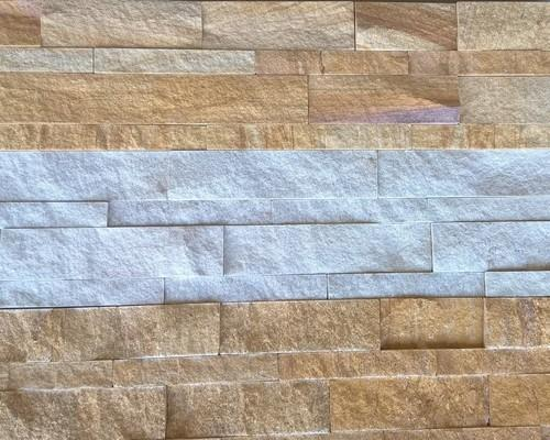 Sandstone Split Face Wall Cladding Tiles