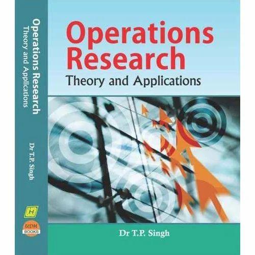 mathematics operation research books