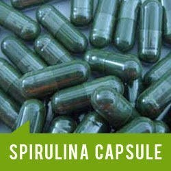 Food Grade Spirulina Capsules, Packaging Type: Bottle, for Personal