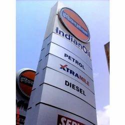 Totem Pole Signage