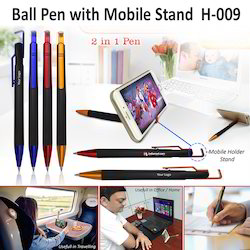 Ball Pen with Mobile Holder H-009