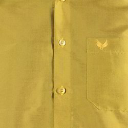 Yellow Art Silk Shirt