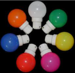Colored LED Bulb