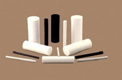 STP White PTFE Moulded Rods