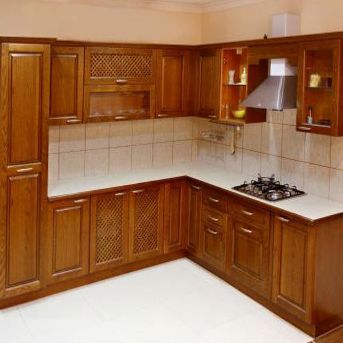 Wooden Modular Kitchen At Rs 1000 /square Feet(s)