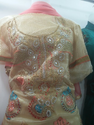 Ladies Stone Art Churidar Suit