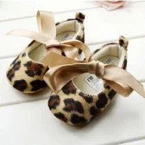 Stylish Leopard Print Ballerinas