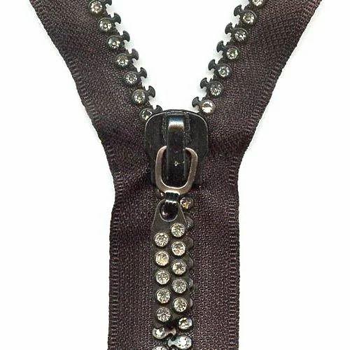 diamond zipper at rs 2 5 inch s zipper strips ज पर