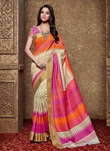000b4a50c91 Kanjivaram Art Silk Multicolor Kanjivaram Silk Sarees