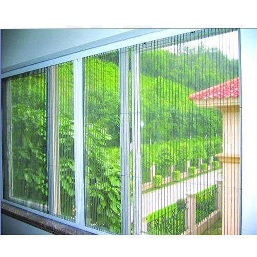 Pleated Mosquito Net Shape Quadrate Rs 300 Square Feet