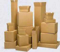 Brown Kraft Paper Rectangular Disposable Plain Corrugated Box