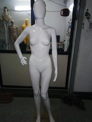 Glossy Mannequin White