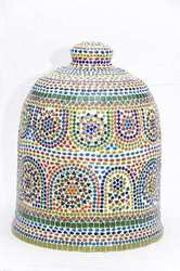 Ceramic Blue Pottery Pickle Keeper