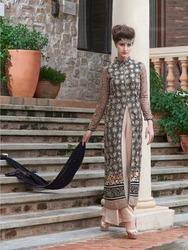 Embroidered Indo Western Dress