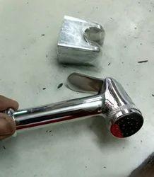 Health faucet light brass