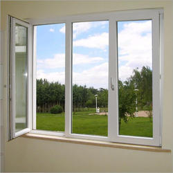 White Residential UPVC Windows