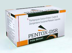 Pantoprazole Sodium Enteric Coated And Domperidone Sustained Release Capsules