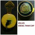 Yellow Volvo Diesel Tank Cap, Vehicle Type/model: Excavators