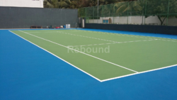 Anti Slip Badminton Court Flooring