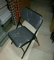 Metal Folding Chair with Cushioned