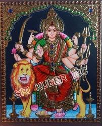 Durga Devi Tanjore Paintings