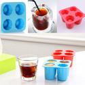 Ice Shot Glass Shape Silicon Jelly Chocolate Candy Tray