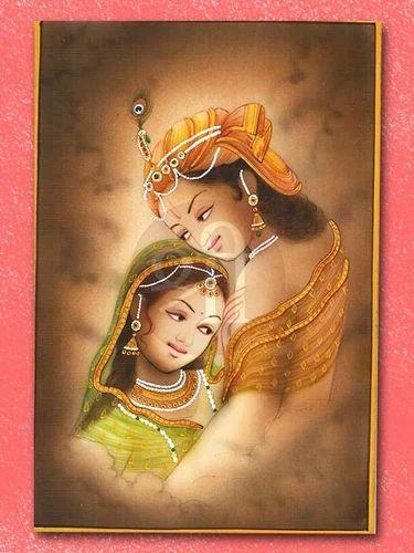 Radhe Krishna Miniature Painting At Rs 12000 Pieces Miniature