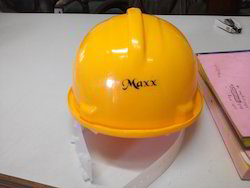 Maxx Yellow Safety Helmet, Construction