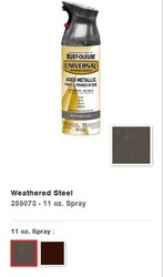 Rust-Oleum Universal Aged Metallic Spray Paint