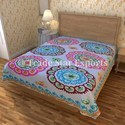 Indian Embroidered Bed Covers