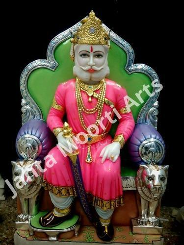 White Maharaj Agrasen Marble S...