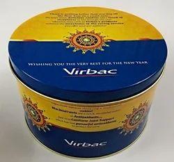 Virbac Tin Box