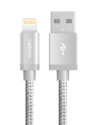 Silver USB Sync Cable - Lightning (3m)