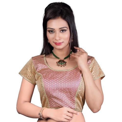 1113204eaf2014 Brocade Stitched Ladies Blouse at Rs 350 /piece(s) | ब्रोकैड ...